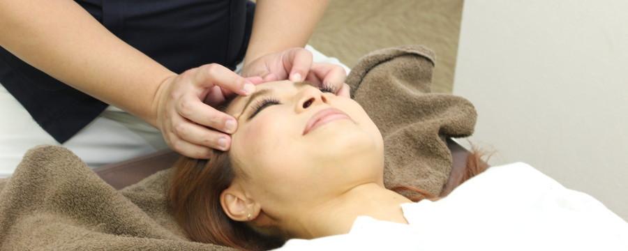 顔・頭の施術